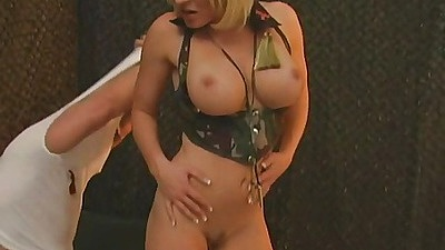 Army slut is fucking the prisoner