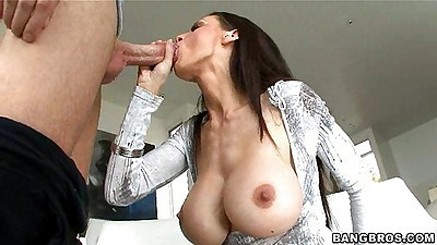 McKenzie Lee sucking deep throating cock