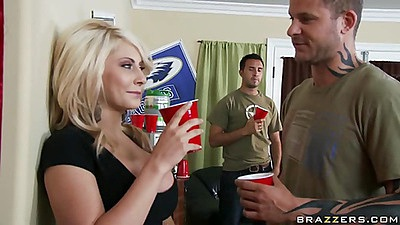 Big tits blonde college slut whore Madison