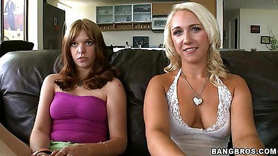 Perky tits sluts Summer and Lori Brook taking out boobs
