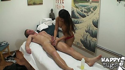 Sexy Annie giving a nice happy massage
