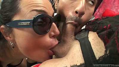 Sucking balls tranny group sex with Rafaella Bastos and Ars Armandi