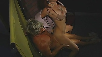 Cumming all over the future wifes tits